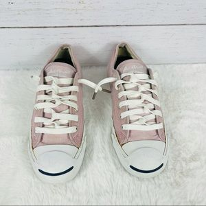 Jack Purcell Converse pink and white